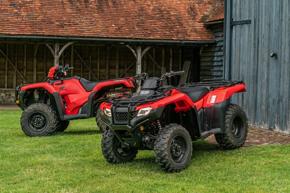 Honda ATV & UTV announcement small